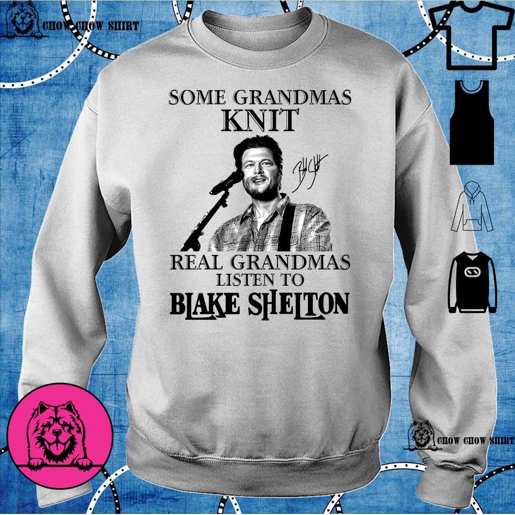 Some grandmas knit real grandmas listen to Blake Shelton s sweater