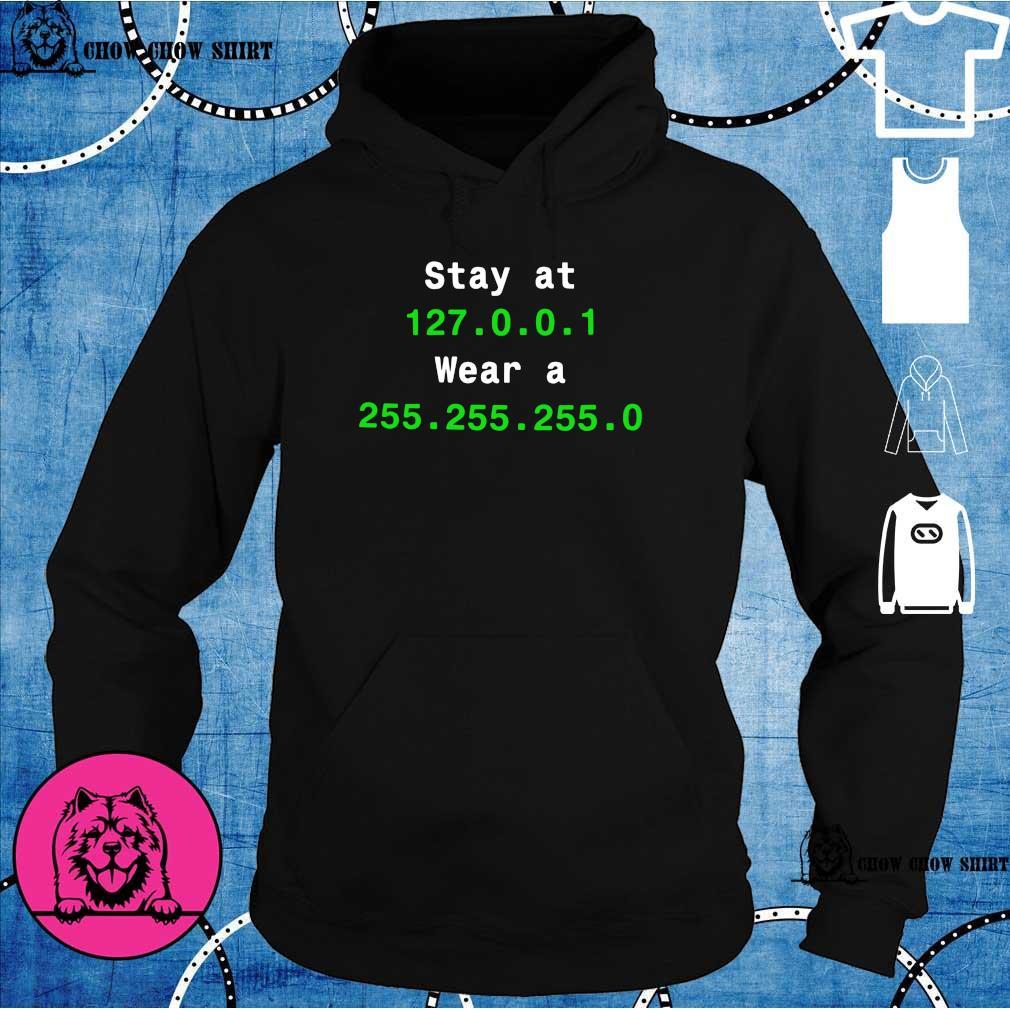 Stay at 127.0.0.1 wear 255.255.255.0 hoodie
