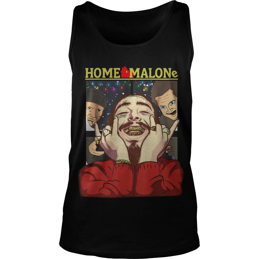 Post Malone Clean: Official Post Malone Home Malone Christmas Ugly Shirt