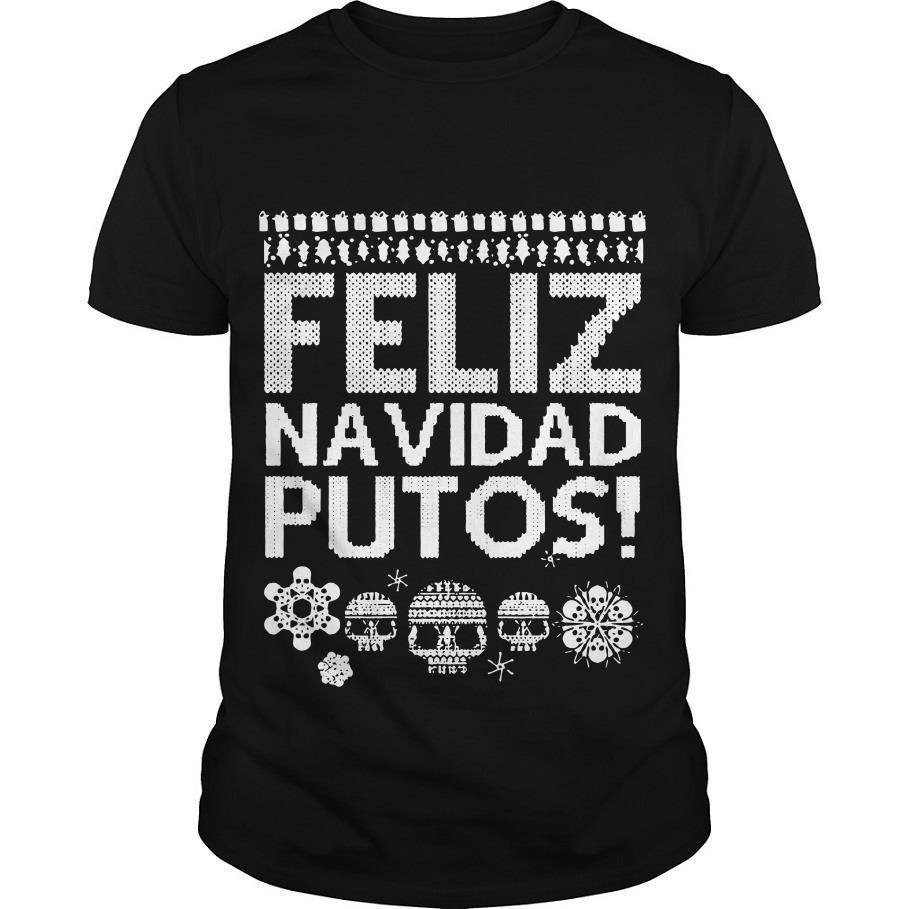 Feliz Navidad Putos Christmas Sweatshirt for Men for Women Christmas Sweater