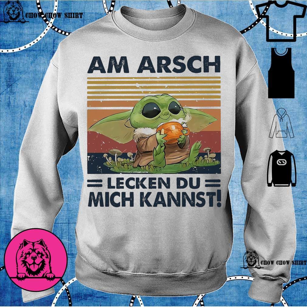 Baby Yoda Am Arsch lecken du mich Kannst vintage s sweater