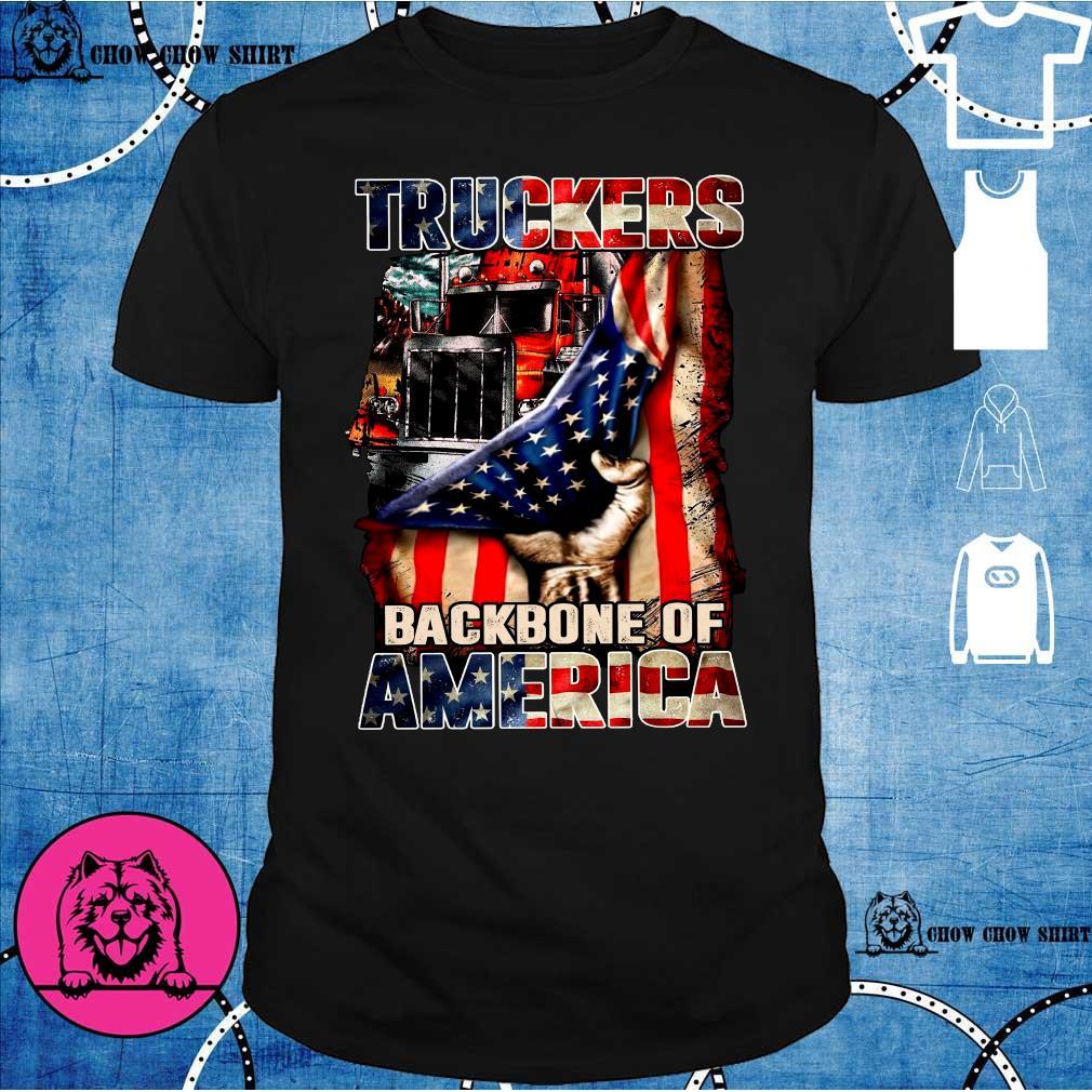 Truckers backbone of America shirt